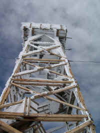 The new firetower