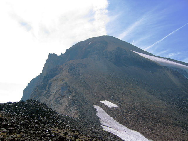 Middle Sister, north ridge approach
