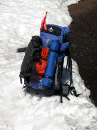 A 28 pound pack, suitable for an overnight climb of Adams or Shasta. Read more!