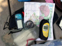 Map, compass, gps and small essentials (see my list).