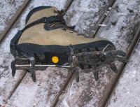 GAB snap-on crampons