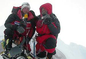 John and Jess Roskelley on Everest, Generations on Everest