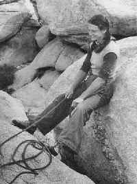 Belaying the follower in 1981