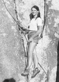 Belaying the leader in 1981