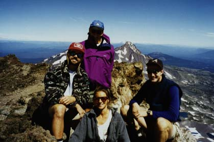 Componaions on South Sister summer 1995